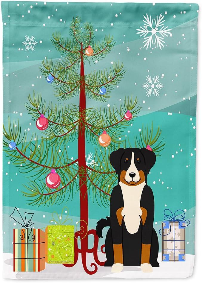 毎日続々入荷 Caroline's Treasures BB4168CHF Merry Christmas 豊富な品 Appenzeller Tree