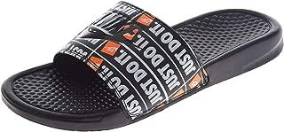 Men's Benassi Just Do It Slide Sandal (13 M US, Black/Black)