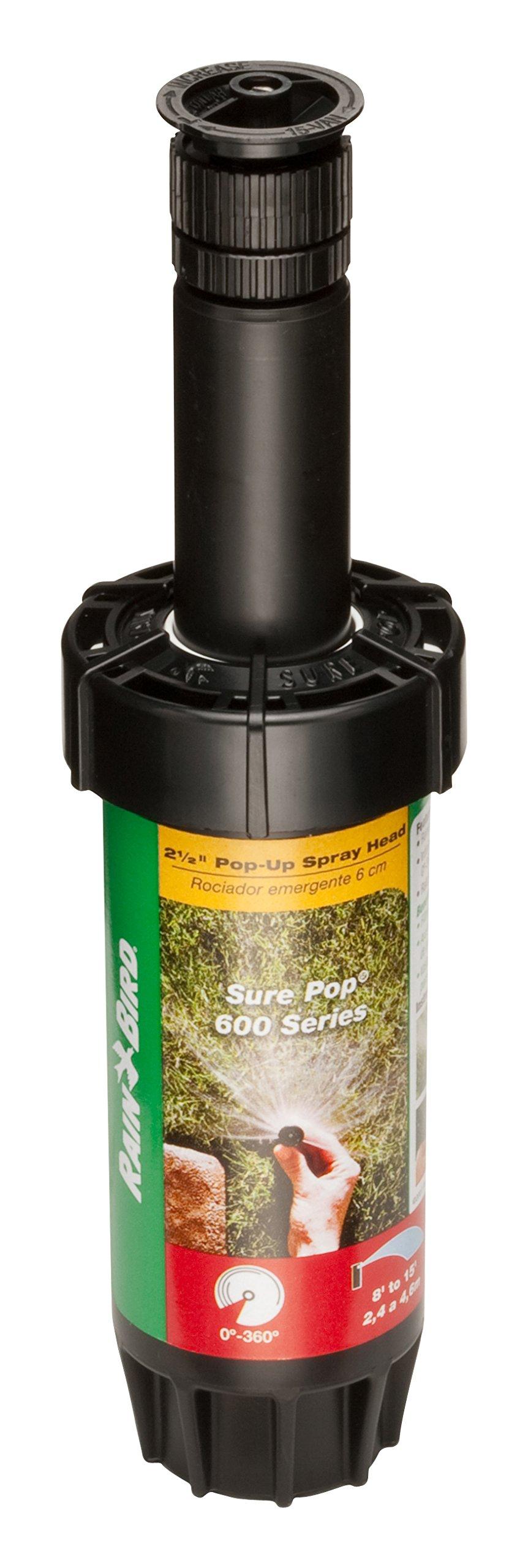 """Rain Bird 600 Sure Pop 2.5/"""" Rainbird Sprinkler SP25-EST"""