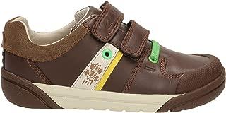 Clarks Boy's LilfolkCub Pre Brown First Walking Shoes
