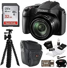 Panasonic LUMIX FZ80 4K Long Zoom Camera (18.1 Megapixels, 60X 20-1200mm Lens) + 32GB Accessory Bundle