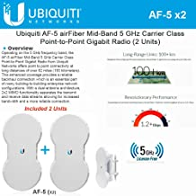 Ubiquiti Airfiber AF5 KIT 2 End Points mid-band 5GHz 1.2+Gbps up to 100+km PTP