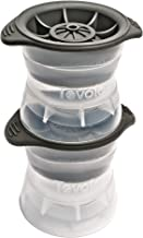 Tovolo Leak-Free, Slow-Melting 2.5-Inch Sphere Ice Molds With Silicone Sealed Lid, Anti-Tip, Set of 2 Stackable Molds for ...