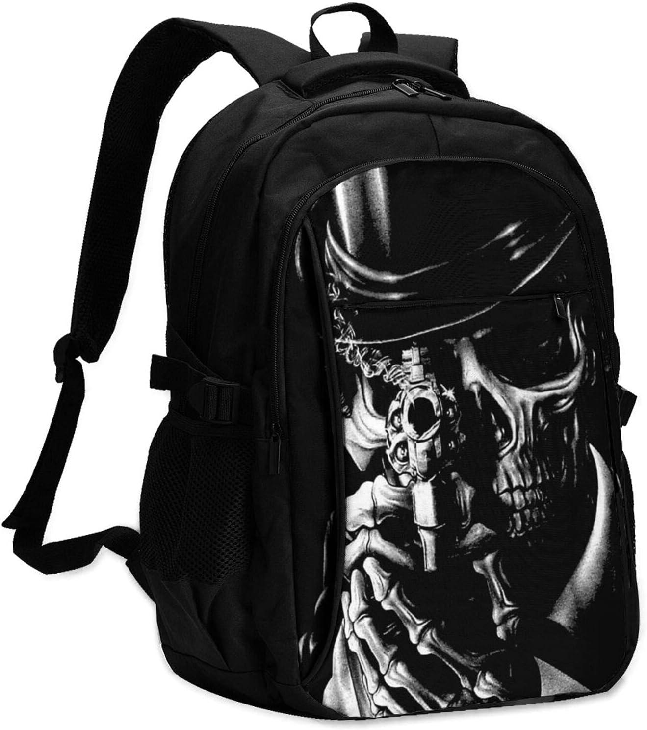 Manufacturer direct delivery KAETZRU Laptop Backpacks with USB sale Skeleton Sought Travel Backpac