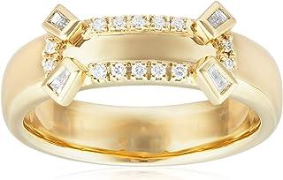 [ベルシオラ] BELLESIORA 【 K18YGダイヤモンドリング 】 4018431102003013 日本サイズ13号