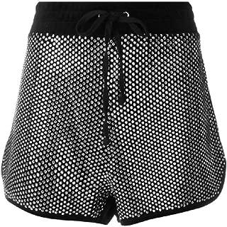 Juicy Couture Women's Swarovski Embellished Velour Shorts