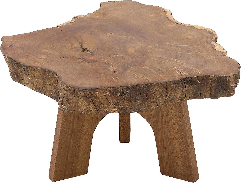 Benzara 47443 Wood Table Stand, 14  x 7