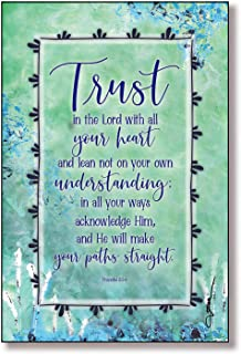 Trust The Lord Wood Plaque Inspiring Quotes 6