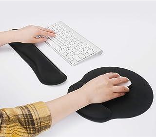 Levoit Keyboard Wrist Rest Pad, Mouse Wrist Rest for Computer Keyboard, Ergonomic Memory Foam Wrist Pad for Keyboard Suppo...