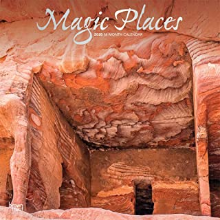Magic Places 2020 Calendar: Foil Stamped Cover