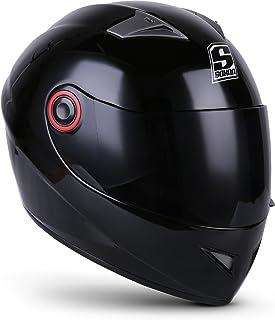 comprar comparacion Soxon ST-666 Casco Integrale Sport Mot, ECE certificado, incluyendo Parasol y Bolsa de Casco, XS (53-54cm), Shiny Night
