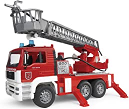 Bruder Toys – Emergency Realistic MAN Fire Engine with Water Pump and Light and..