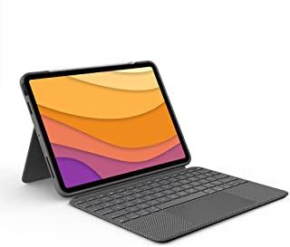 Logitech Folio Touch iPad Keyboard Case (4th Generation) with Trackpad and Smart Connector for iPad Air (Models: A2316/A23...