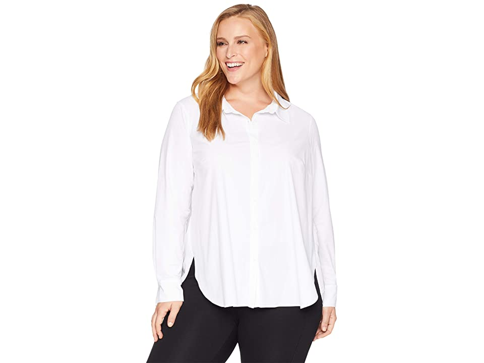 Lysse Plus Size Reese Blouse (White) Women