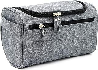 Buruis Hanging Toiletry Bag for Men & Women, Portable Travel Kit Organizer, Waterproof Shower Bag Shaving Dopp Kit for Travel, Trip, Vacation, Gym, Airplane - 7 Colors