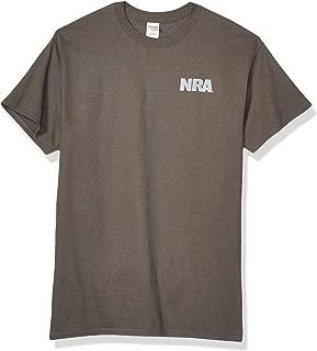 Buck Wear Men' NRA - we The People Cotton t-Shirt, Charcoal