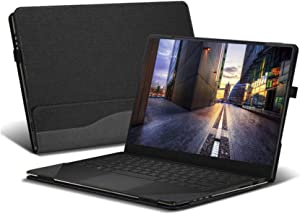 Honeymoon Case Cover for HP Spectre x360 15t-EBxxx Touch 15.6 Inch,PU Leather Folio Stand Hard Shell Case Compatible with HP Spectre X360 Convertible 15-eb0036tx 15