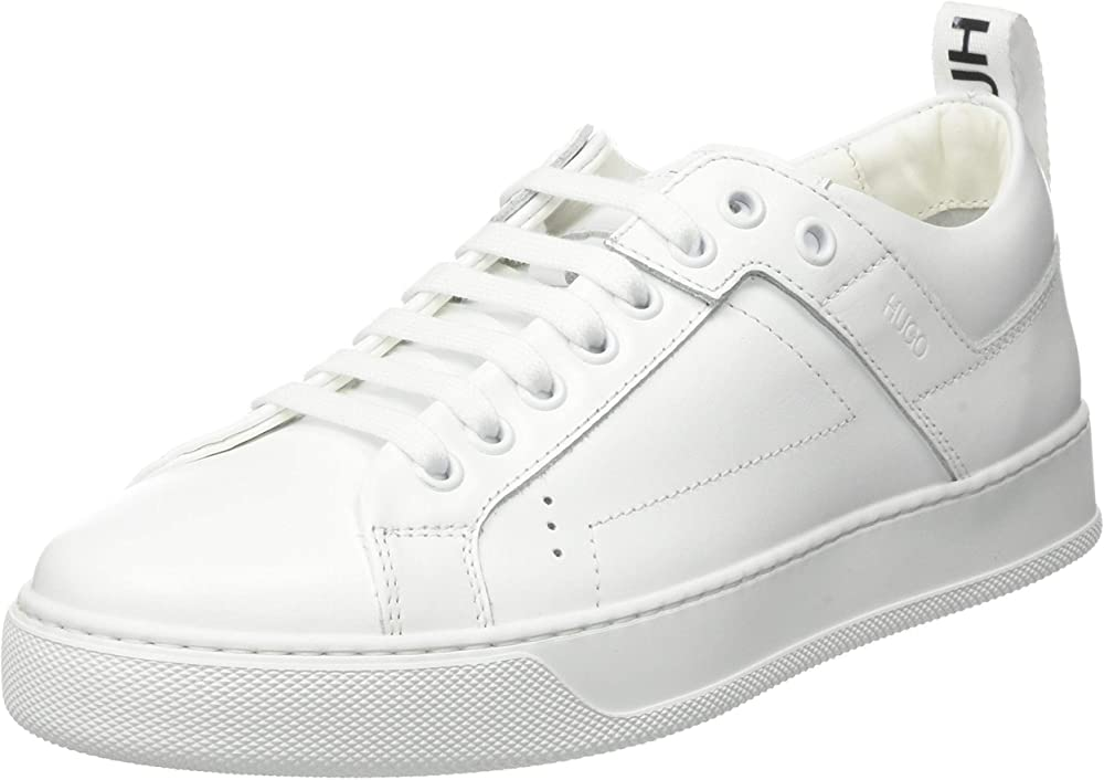 Hugo boss, mayfair lace sneakers, scarpe da ginnastica donna,in pelle 50441832