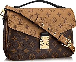 Louis Vuitton Monogram Canvas Pochette Metis Cross Body Handbag Article  M41465 d78fa0eb331b9