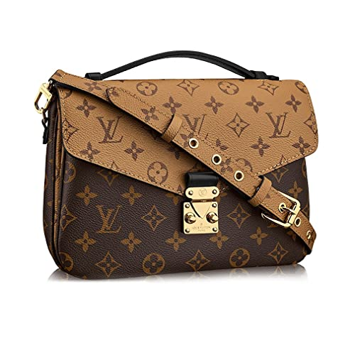 852750a10d300 Louis Vuitton Monogram Canvas Pochette Metis Cross Body Handbag  Article M41465