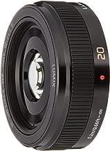 Panasonic h-h020ae MILC/SLR Black Camera Lenses/Filters (MILC/SLR, 75/16, Manual, 0.2m Micro Four Thirds, 1.7–)
