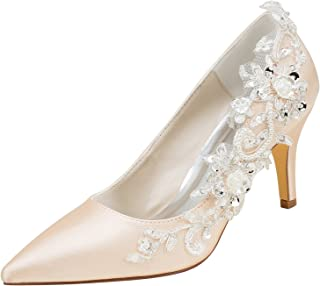 Scarpe Sposa Color Champagne.Amazon It Scarpe Sposa Champagne
