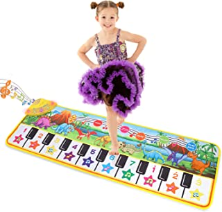 "Musical Piano Mat 43"" x 14"" Keyboard Play Mat Kids Piano"