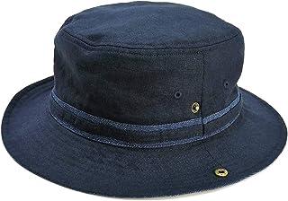 ベーシックエンチ(大きいサイズ)Linen Denim Hat 帽子 ハット 男女兼用