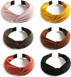 WOMEN ART DECO FAUX LEATHER PLAITED BRAIDED ELASTIC HEADBAND FESTIVAL RETRO 90s