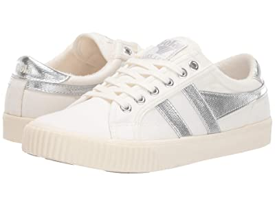 Gola Tennis Mark Cox (Off-White/Silver) Women