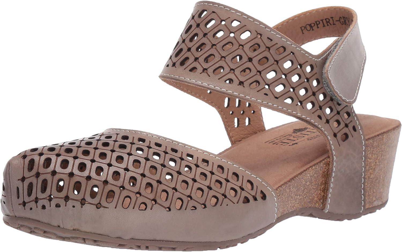L'ARTISTE L'ARTISTE L'ARTISTE Woherrar Poppiri läder Ankle Strap Sandal  beställa online