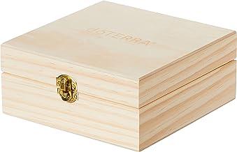 doTERRA, Wooden Essential Oil Box, Holds 25 15ml Bottles