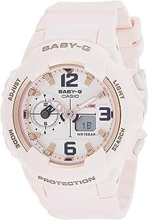 كاسيو ساعة عملية كاجوال نساء انالوج-رقمي بلاستيك مطاطي - BGA-230SC-4B