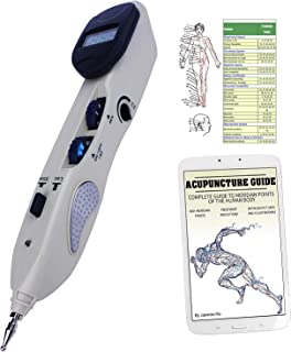 Electronic Acupuncture Pen ? Pain Relief Therapy ? Meridian Energy Pulse ? Laser Acupuncture Pen ? USB Rechargeable ? Bonus E-Book ? No Acupuncture Needles Used