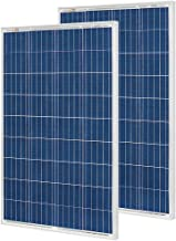 Richsolar 2pcs 100 Watt Polycrystalline 100W 12V Solar Panel High Efficiency Poly Module..
