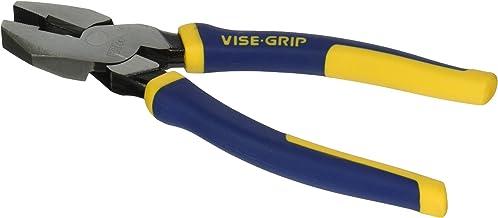 """IRWIN VISE-GRIP North American Lineman's Pliers, 9-1/2"""", 2078209"""
