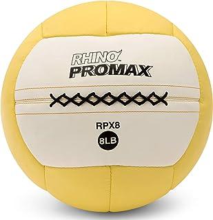 Champion Sports Rhino Promax Slam Balls, Soft Shell with Non-Slip Grip - Medicine Wall Ball for Slamming, Bouncing, Throwi...