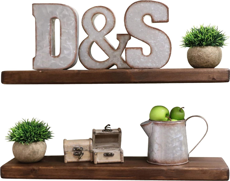 SDI Designs Cheap mail order shopping Rustic Farmhouse Floating Shelves Wall Mounted Shel shopping