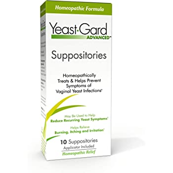 YeastGard Advanced Homeopathic Yeast Infection Vaginal Suppositories - 10 count Box