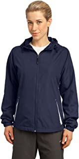 Women's Colorblock Hooded Raglan Jacket