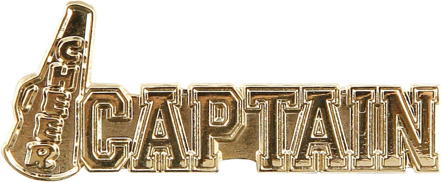 1 Cheer Captain Lapel Pin (Gold)