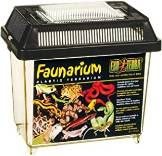 Exo Terra Faunarium, Plastic Reptile Terrarium, Mini