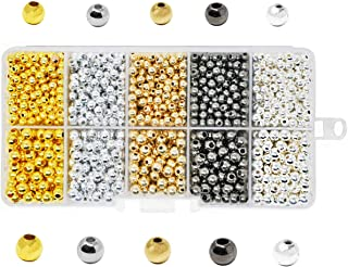 gold silver beads