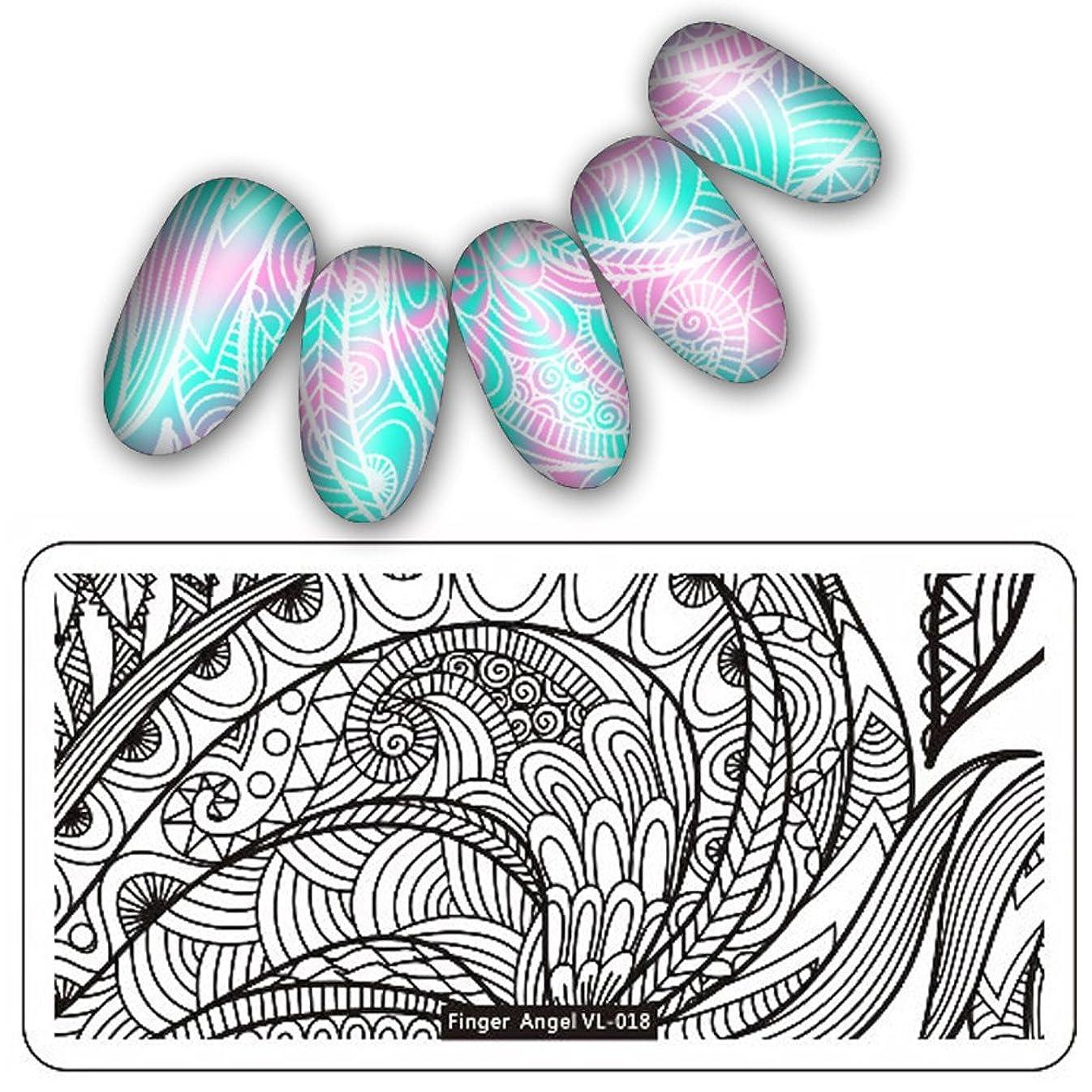 レルムマイクロフォン励起[ルテンズ] スタンピングプレートセット 花柄 ネイルプレート ネイルアートツール ネイルプレート ネイルスタンパー ネイルスタンプ スタンプネイル ネイルデザイン用品