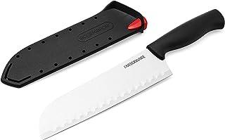 Farberware EdgeKeeper Santoko Knife, 7-inch Santoku, Stainless Steel