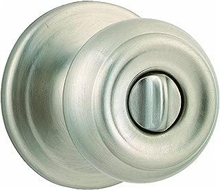 WEISER Lock GA331 P 15 MS 6LR1 Phoenix Privacy Knob, Satin Nickel