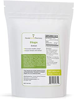 Florida Herbal Pharmacy, Hops (Humulus lupulus) Extract Powder 10:1 (4 oz)