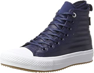 Converse Unisex Adults' CTAS Wp Boot Midnight Navy/Wolf Grey Hi-Top Trainers, Blue