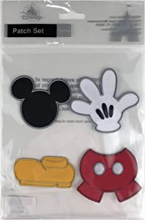 Disney Parks - Iron On Patch Set - Best Of Mickey Mouse