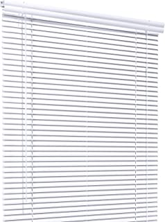 CHICOLOGY Custom Made Corded 1-Inch Aluminum Mini Blind, Blackout Horizontal Slats, Inside Mount, Room Darkening Perfect for Kitchen/Bedroom/Living Room/Office and More: 30